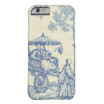Toile in Blue & White Barely There iPhone 6 Case