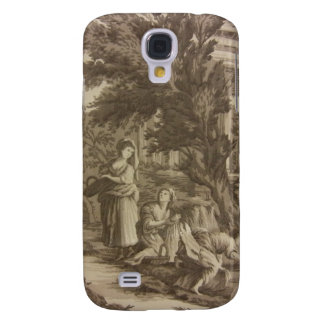 Toile: Wash Day at the River Galaxy S4 Cover