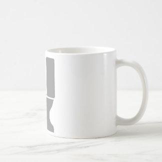 Toilet and Plunger Basic White Mug