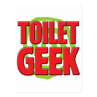 Toilet Geek Postcard