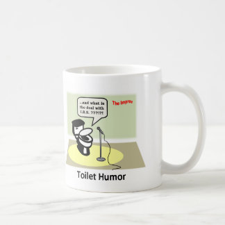 Toilet Humor Basic White Mug