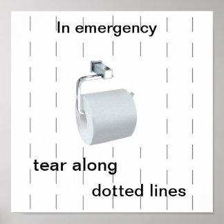 Toilet humour poster