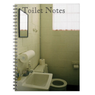 Toilet Notes 1 Notebook