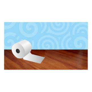 Toilet Paper Business Cards
