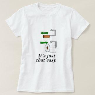 Toilet Paper Instructions T-Shirt