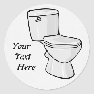 Toilet Sticker