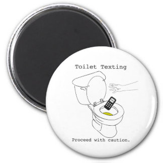 Toilet Texting Magnet