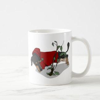 toilet time dachshund coffee mug