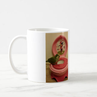 Toilet Trained Quaker Parrot? Mug