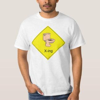 Toilet X-ing Tshirts