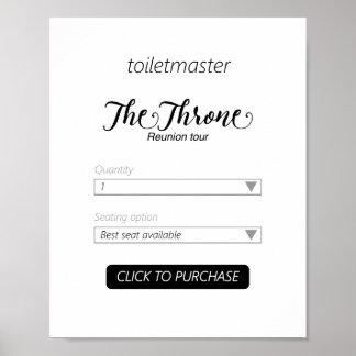 Toiletmaster Bathroom Print
