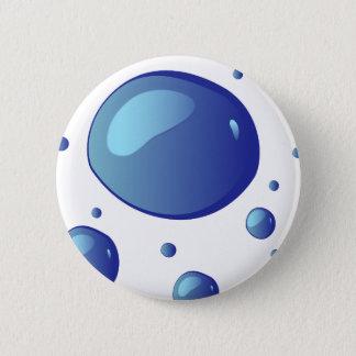 toilets 6 cm round badge