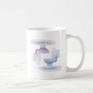 Toilets Basic White Mug