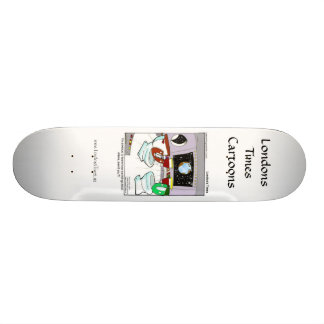 Toilets From Outer Space Funny SkateBoards