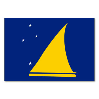 Tokelau Flag Card