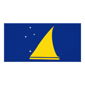 Tokelau Flag Card