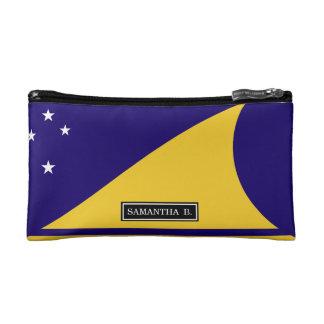 tokelau Flag Cosmetic Bag