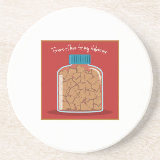 Tokens Of Love Drink Coasters