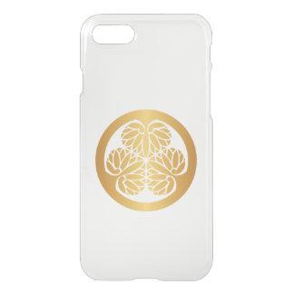 Tokugawa Aoi Mon Japanese Family Crest Gold iPhone 7 Case