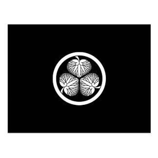 Tokugawa hollyhock 2(first,2nd,3rd)33 postcard
