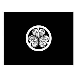 Tokugawa hollyhock 9(8th Yoshimune)23 Postcard