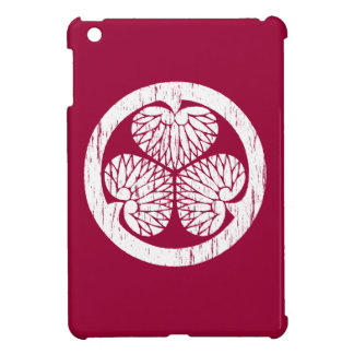 Tokugawa white crest distressed cover for the iPad mini
