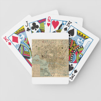 Tokyo 1854 bicycle playing cards