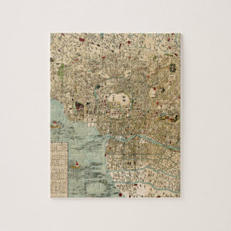 Tokyo 1854 jigsaw puzzle