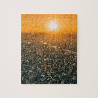 Tokyo at Sunrise Jigsaw Puzzle