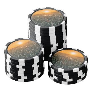 Tokyo at Sunrise Poker Chips