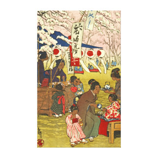 Tokyo Blossoms 1914 Canvas Print
