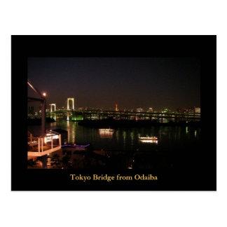 Tokyo Bridge From Odaiba Tokyo Japan Post Cards