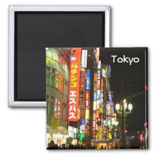 Tokyo by Night Magnet