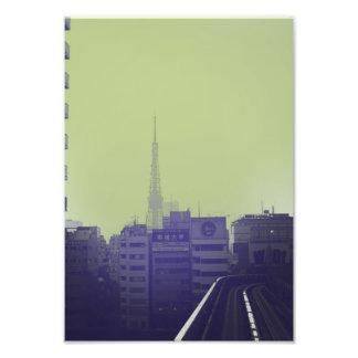 Tokyo City Ride Photo Print
