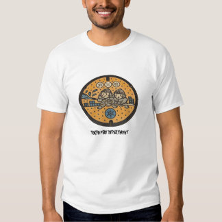 Tokyo Fire manhole cover, TOKYO FIRE DEPARTMENT Tshirt
