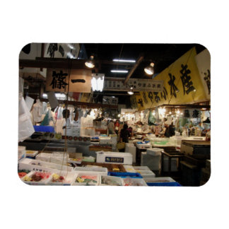 Tokyo Fish Market Flexible Magnet