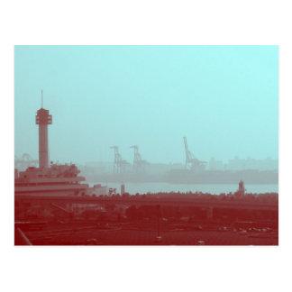 Tokyo Harbor Postcard