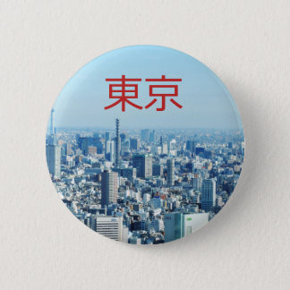 Tokyo, Japan 6 Cm Round Badge