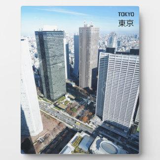 Tokyo, Japan Photo Plaques