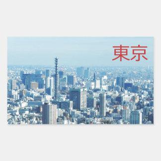 Tokyo, Japan Rectangular Sticker