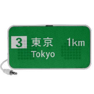 Tokyo, Japan Road Sign Speaker System
