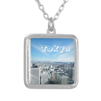 Tokyo, Japan Silver Plated Necklace