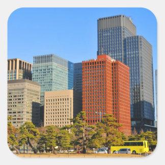Tokyo, Japan Square Sticker