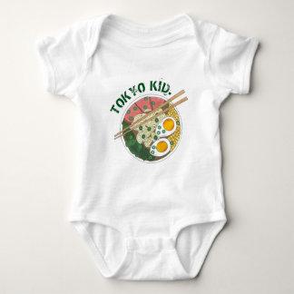 Tokyo Kid Japan Japanese Food Ramen Noodle Bowl Baby Bodysuit