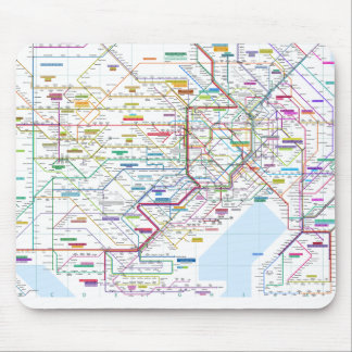 Tokyo Mouse Pad