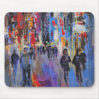 Tokyo Night Mouse Pad