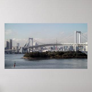 TOKYO RAINBOW BRIDGE POSTER
