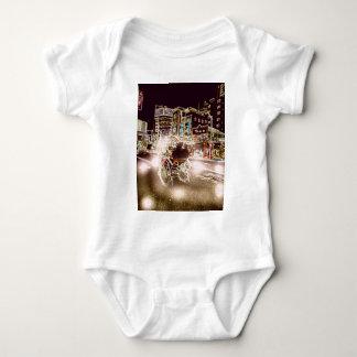 Tokyo Rickshw Night Baby Bodysuit