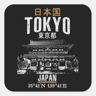 Tokyo Square Sticker