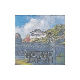 Tokyo Stone Magnet